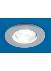 Светильник встраиваемый точечный Prima 80 0 01 R80 белый E27 ИТАЛМАК IT8181