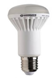 Лампа светодиодная LED 7Вт R63 E27 4500К Экономка Космос Eco_LED7wR63E2745