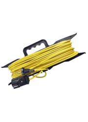Удлинитель-шнур на рамке 1х10м 2.2кВт ПВС 2х1 Союз 481S-5201