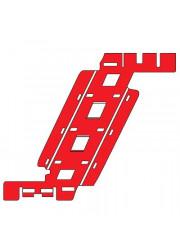 Фиксатор кабеля в кабель-канал TR-E 60 ДКС 07712