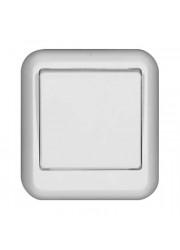 Выключатель 1-клавишный ОП Прима 6А белый SchE A16-051-B (А16-051-б)