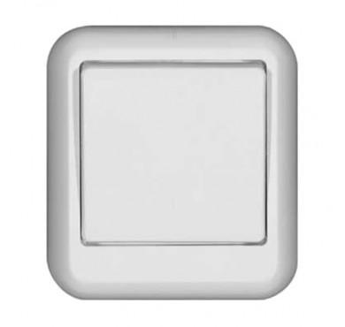Выключатель 1-клавишный ОП Прима 6А белый SchE A16-051M-BI (А16-051М-би)