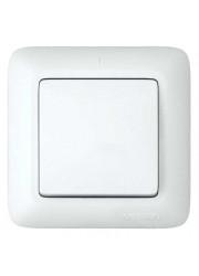 Выключатель 1-клавишный СП Прима 6А белый SchE S16-057-B (С16-057-б)