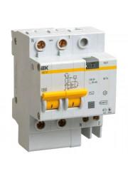 Выключатель диффер. тока 2п 4мод. C 63A 30mA тип AC 4.5kA АД-12М ИЭК