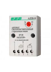 Фотореле AZH-S выносной фотодатчик 230В 16А 1НО F&F ЕА01.001.007