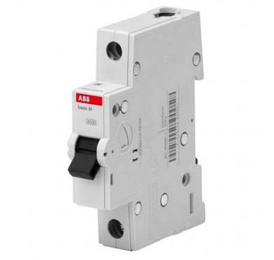Автоматический выключатель мод. 1п С 6А 4.5кА Basic M BMS411C06 2CDS641041R0064