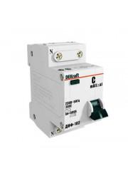 Выключатель диффер. тока 1п+N 2мод. C 16A 30мА тип AC 4.5кА ДИФ-102 DEKraft