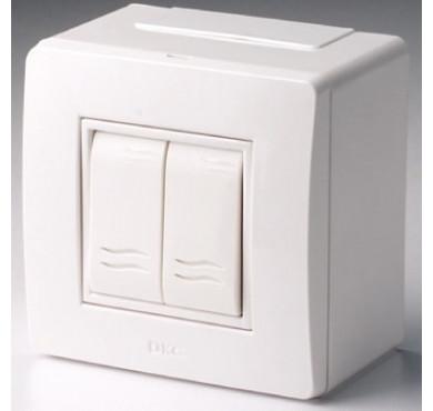 Коробка PDD-N60 в сборе с выкл. 2-кл. BRAVA ДКС 10001
