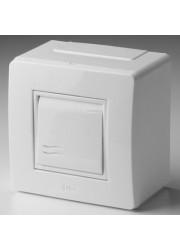 Коробка PDD-N60 в сборе с выкл. 1-кл. BRAVA ДКС 10002