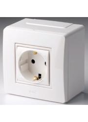 Коробка PDD-N60 в сборе с розеткой BRAVA ДКС 10482
