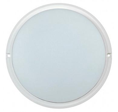 Светильник светодиодный ДПО 4004 18Вт 4000К IP54 круг бел. ИЭК LDPO0-4004-18-4000-K01