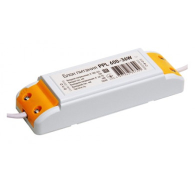 Драйвер 450мА для PPL 600/1200 36Вт IP20 JazzWay 5007345