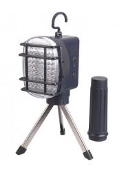 Светильник светодиодный переносной ДРО 2063Л 63LED 3ч триног Lith ИЭК LDRO1-2062L-63-3H-K02