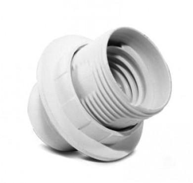 Патрон Е27 с прижимным кольцом пластик инд. упак. UNIVersal 7941418