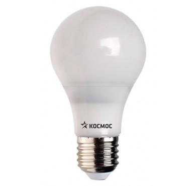 Лампа светодиодная LED Экономик A60 13Вт 220В E27 4500К КОСМОС LkecLED13wA60E2745