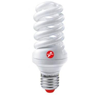 Лампа люминесцентная компакт. SPC 55Вт E27 спиральная 4000К T4 ЭКОНОМКА LKsmT4SPC55wE2742eco