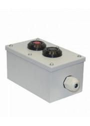 Пост кнопочный ПКУ-15-21.121-54 У2 (1хВК30-10-11110-54 (1з+1р) черн. + 1хВК30-10-11110-54 (1з+1р) красн. + PG-19) пост управления Электротехник ET054487