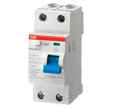 Выключатель диффер. тока 2п F202 AC-25/0,03 2CSF202001R1250