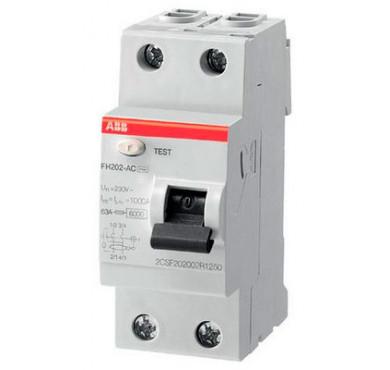 Выключатель диффер. тока 2п FH202 AC-63/0,03 2CSF202004R1630