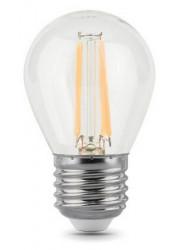 Лампа светодиодная Filament Шар E27 5Вт 2700К GAUSS 105802105