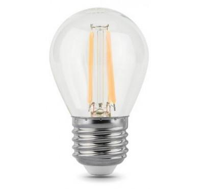 Лампа светодиодная Filament Шар E27 5Вт 4100К GAUSS 105802205