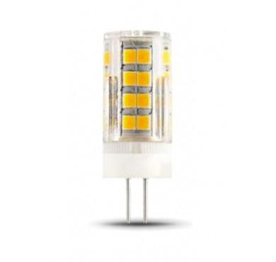 Лампа светодиодная LED G4 4Вт AC185-265В 2700К керамика Gauss 107307104