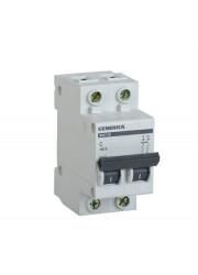 Автоматический выключатель 2п C ВА47-29 16А 4.5кА х-ка C GENERICA ИЭК MVA25-2-016-C