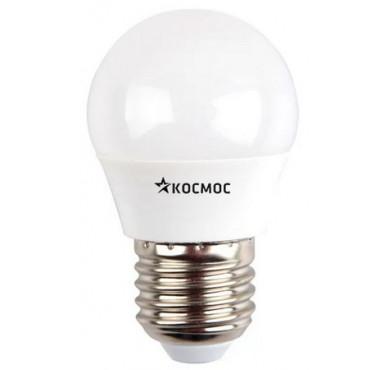 Лампа светодиодная LED GL45 7Вт 220В E27 4500К Космос Lksm_LED7wGL45E2745