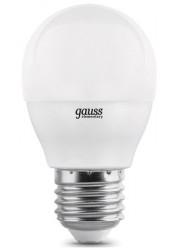 Лампа светодиодная LED Elementary Globe 8Вт E27 6500К Gauss 53238