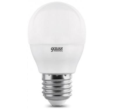 Лампа светодиодная LED Globe 7Вт E27 3000К step dimmable (диммир.) Gauss 105102107-S