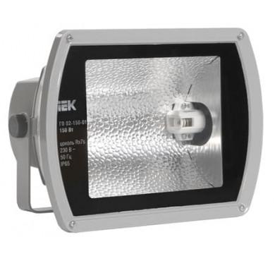 Прожектор ГО 02-150-01 150Вт Rx7s сер. симметр. IP65 ИЭК LPHO02-150-01-K03