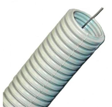 Труба гофрированная ПВХ 32мм с протяжкой (уп.25м) ИЭК CTG20-32-K41-025I