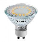 Лампа светодиодная LED GU10 3Вт 220В 4500К Космос Lksm_LED3wGU10C45