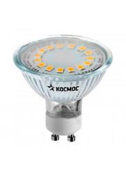 Лампа светодиодная LED GU10 3Вт 220В 3000К Космос Lksm_LED3wGU10C30