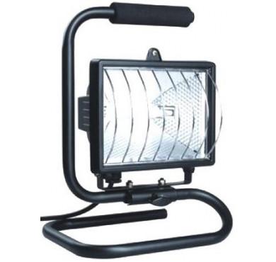 Прожектор ИО500П ИЭК черный