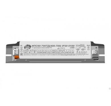 Драйвер ИПС60-700ТД (400-700) 0100 IP20 Аргос