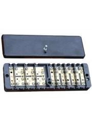 Коробка испытательная переходная 68х220х33 латунь
