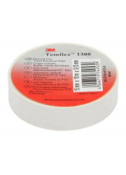 Изолента ПВХ 15мм Temflex 1300 бел. (рул.10м) 3М 7100081322