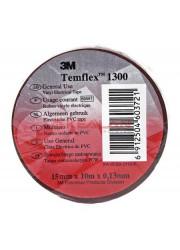 Изолента ПВХ 15мм Temflex 1300 корич. (рул.10м) 3М 7100081326