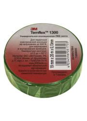 Изолента ПВХ 15мм Temflex 1300 зел. (рул.10м) 3М 7100081321
