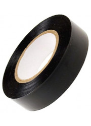 Изолента ПВХ 0.13х15мм (рул.10м) черный ИЭК UIZ-13-10-10M-K02
