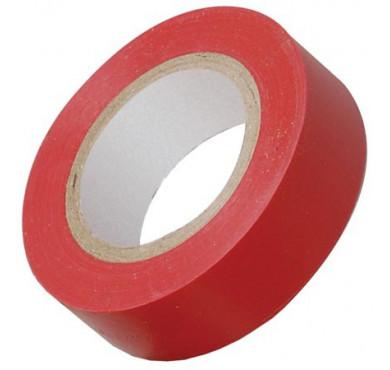 Изолента ПВХ 0.18х19мм красная (рул.20м) ИЭК UIZ-20-10-K04