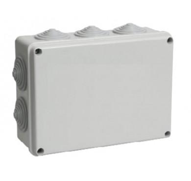 Коробка распаячная ОП КМ41243 10 вводов IP44 ИЭК UKO11-190-140-070-K41-44