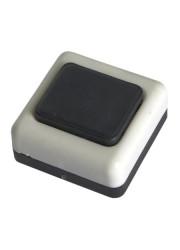 Кнопка звонка бел. корп. черн. кнопка БЕЛТИЗ А1-0.4-001