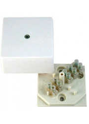 Коробка распределительная КРК2701 ОП 60х60х30 с клеммником HEGEL