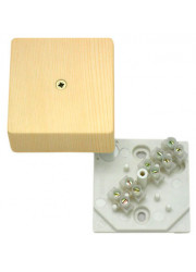 Коробка распределительная КРК2701 0201-И ОП 60х60х30 с клеммником HEGEL