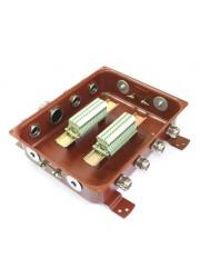 Коробка клеммная КЗНС-32 с латунными сальниками IP65 ЗЭТА