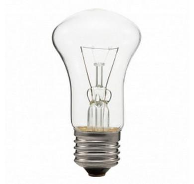 Лампа накаливания Б 60Вт E27 230-240В прозрач. Томский ЭЛЗ 4750/6099