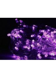 Электрогирлянда LD120-V-E 120 светодиод. с доп. подключ. до 20 доп. модулей 12м фиол. SHLights 4610003323318