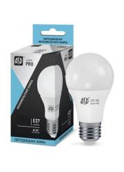Лампа светодиодная низковольтная LED-MO-12/24V-PRO 7.5Вт 12-24В E27 4000К 600лм ASD 4690612006956